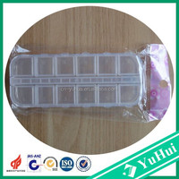 China hot sale popular used small clear plastic packaging boxes