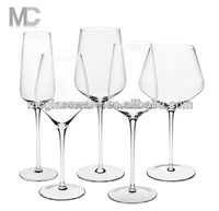 handmade red wine/white wine/champagne glass