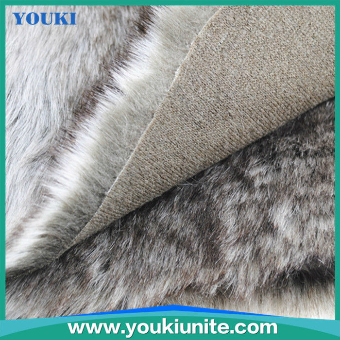 woven beautifu design fox fur coat