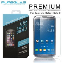 Cheap price good quanlity mobile phone 9H 2.5D 0.33mm tempered glass screen protector for Samsung galaxy Note 2