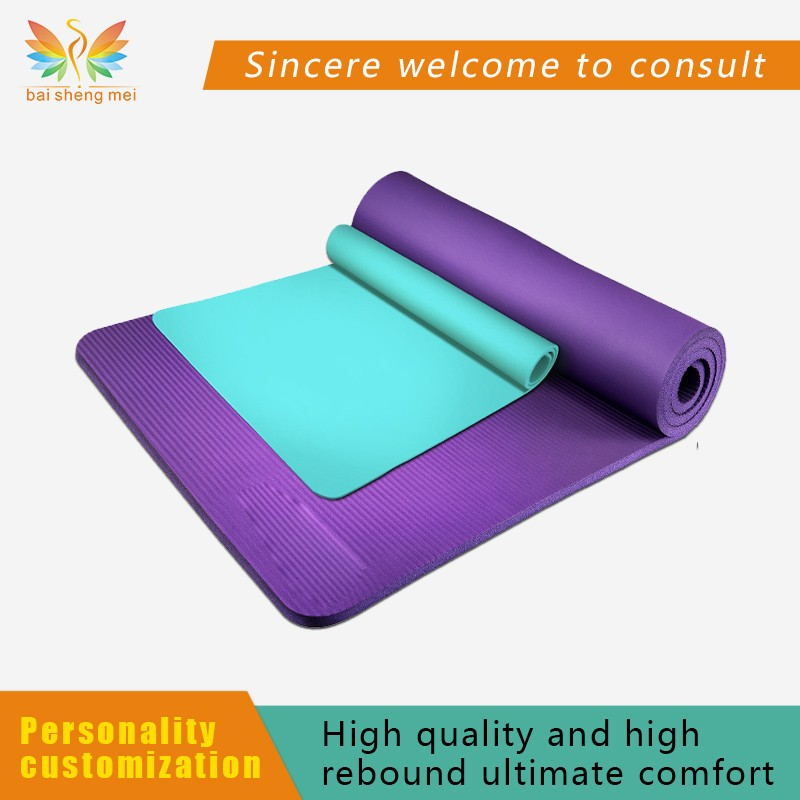 Wholesales popular yoga mat,10mm thick yoga mat,colorful yaga mat