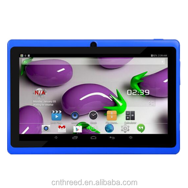 7inch q88 tablet pc 7inch laptop allwinner A13 ultrathin capacitive touch screen