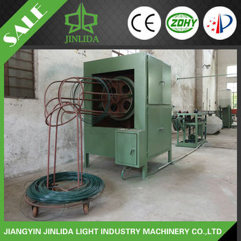 Green/Grey Color PVC Production line for Hexagonal wire netting and Chain Link Mesh