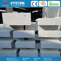 High quality cheap granite kerbstone for walkways