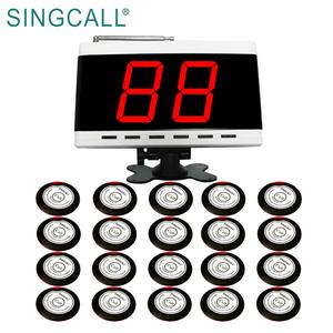 SINGCALL restaurant table ordering wireless waiter call button system