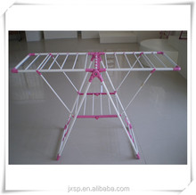 2015 hot sale folding used stand clothes rack shop fittings YJ-03