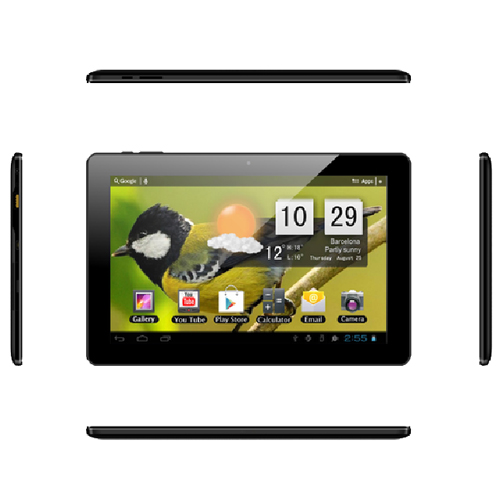 10.1 IPS screen wifi version 1.8 ghz processor tablet pc With plastic case android 4.4 1G/8G 0.3M/2M