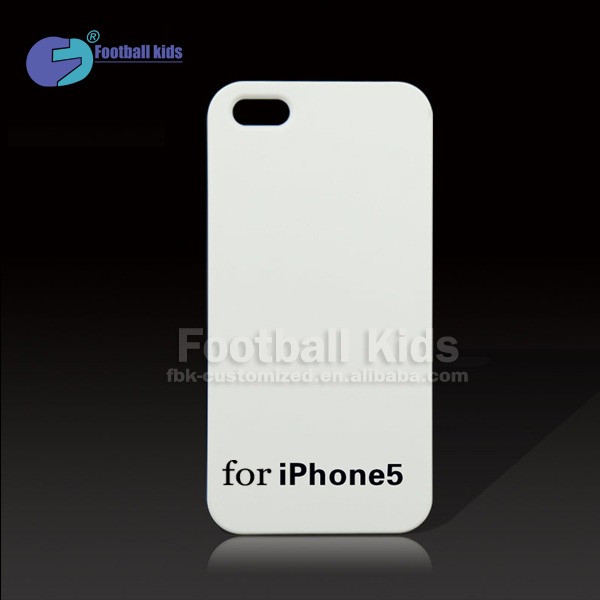 for iphone 3D sublimation case, custom design print cover for iphone 5 5s blank case, for iphone blank sublimation case