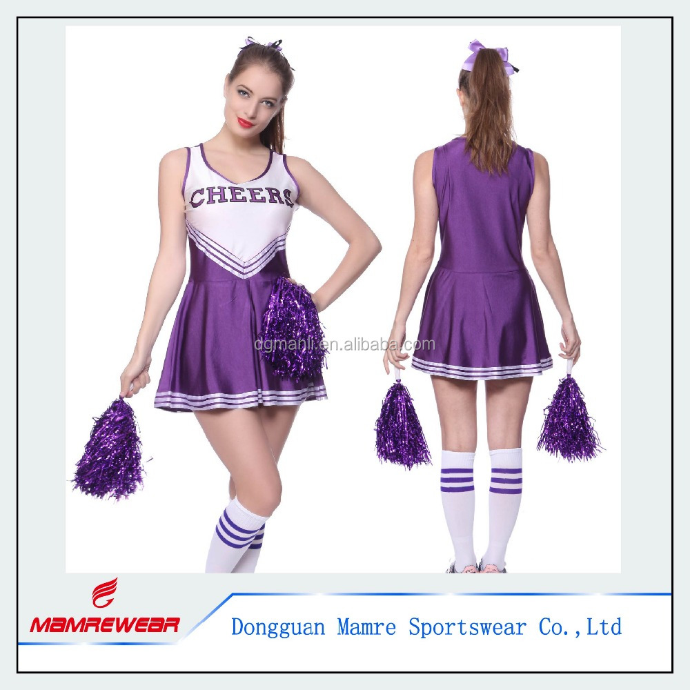 High School Musical Sexy Cheer Girl Cheerleading Uniforms Cheerleader Costume Outfit Plus Size Suits