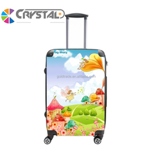 2017 Customized Design children travel trolley luggage 16inch ABS+PC trolley case,luggage bag,luggage case