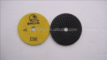Best selling and good quality marble strong floor style color polishing pad