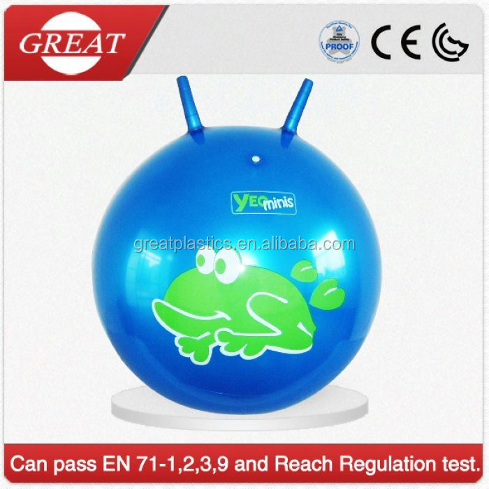 printing inflatable pvc balance ball toy