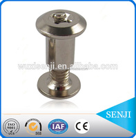 stainless steel rivet hex head bolt and nut / male and female bolt