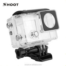 Wholesale Waterproof Housing Case with Touchable Backdoor for Gopro 3+/4 with LCD Screen Camera