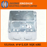 2014HIGH QUALITY 4x4 Square sheet metal box and cover