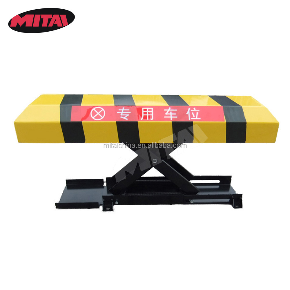 Stainless Steel Electric Parking Barrier With OEM Service