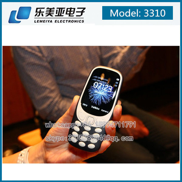 2017 New Brand Mobile Phone 3310 support whatsapp google Smartphones 106 230 225 1172 6100 6700C
