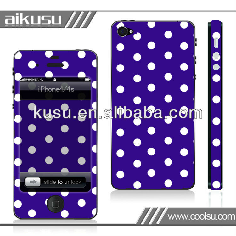 2013 remove easily for iphone 3g/3gs skin sticker