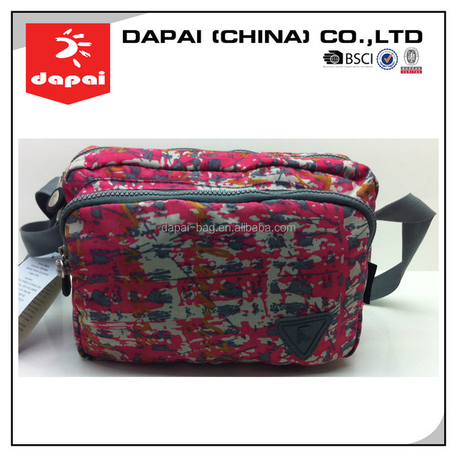 Quanzhou dapai 2015 china supplier pink camouflage BAG Womens Handbag Messenger Shoulder Bag