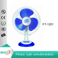 Home Appliance Strong Wing Good Motor 35W 12 inch Table Fan