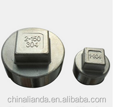 investment casting square plug fig
