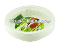 Round Disposable Party Dishes PP sauce Dishes
