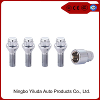 Cone seat universal wheel lock bolts for car