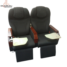Hot selling aircraft seats with leather cover anti-fire and Eco-friendly for sale
