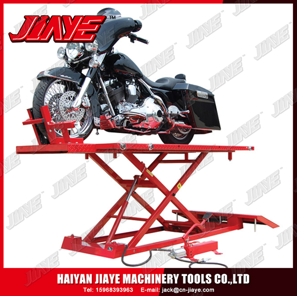 1500LBS Hydraulic Motorcycle Lift jack, ATV Lift jack,Air Hydraulic Motorcycle Lift