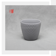 Mini Grey Color Clay Ceramic Flower Pots