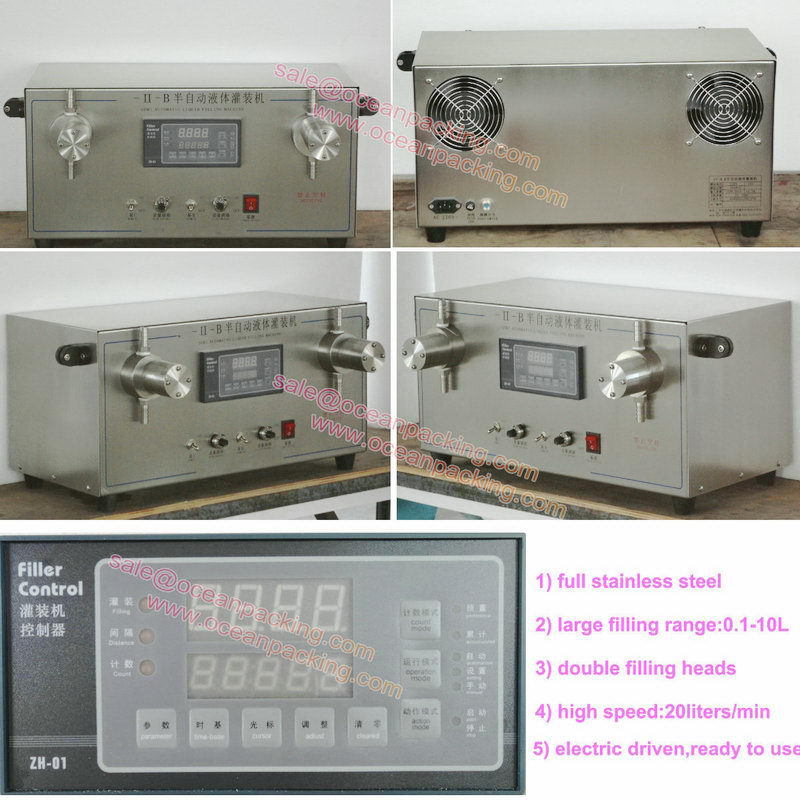 High quality useful 1 gallon filling machinery