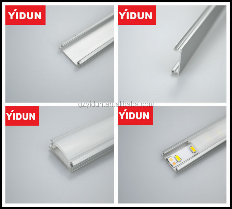 aluminium profile for kitchen cabinet/aluminium furniture LED lights/aluminium wardrobe light housing