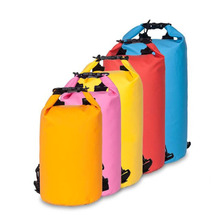 water proof PVC Tarpaulin Dry Bag with Shoulder Strap/ Camping Dry bag