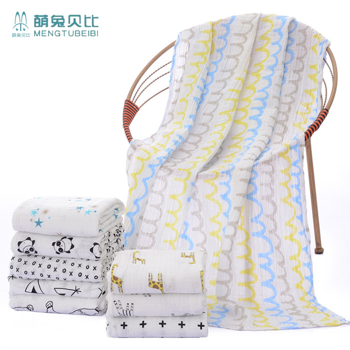 wholesale cheap home textile Multipurpose muslin swaddle blanket