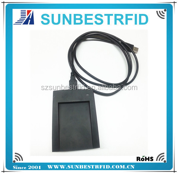 ISO14443A RFID desktop card reader/writer with USB interface