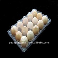 Plastic PET blister packaging tray for Eggs