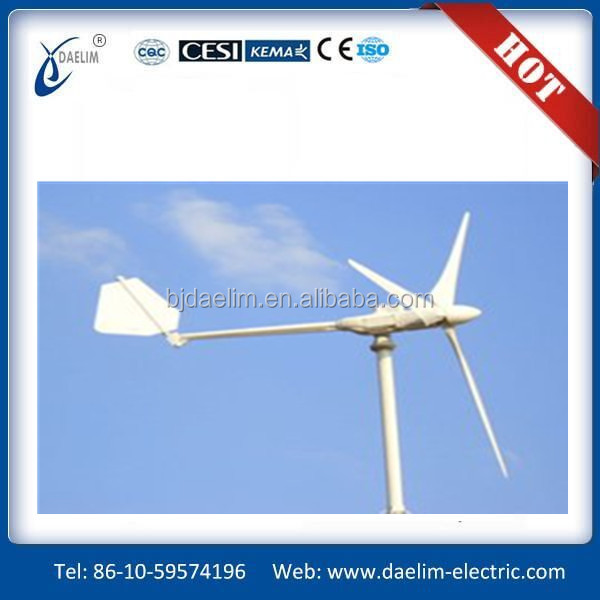 New product vertical-axis wind turbine 3kw