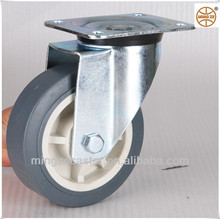 Heavy duty TPR wheel swivel caster