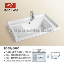 Chinese Porcelain Clothes Washing Basin Sink 6008