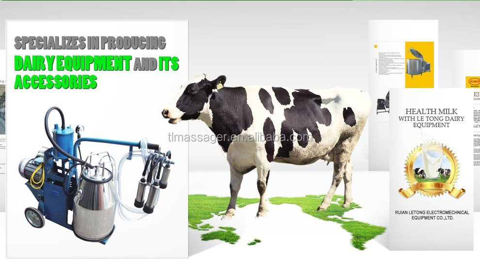 KIMO 2015 Newest Electric Piston Portable Cow Milking Machine Price
