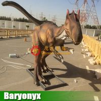 Artificial active life size amusement model animatronic dinosaur