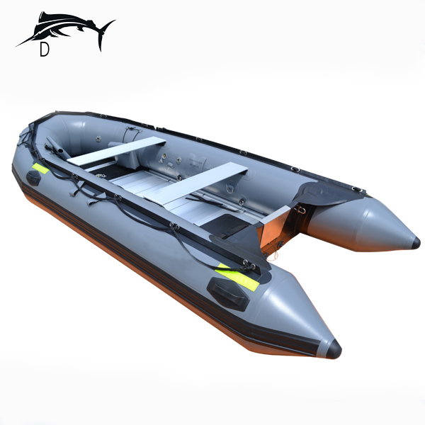 8'10'' inflatable boats with Aluminum floor for fishing