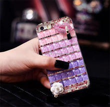 Fashin design bling diamond phone case for iphone with high quality