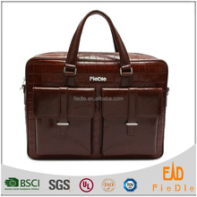 CSYFB033-001 New design practical brown oily leather bags men briefcase business office mens leather bags for men