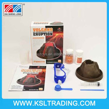 2015 science working models volcanic eruption DIy test kits
