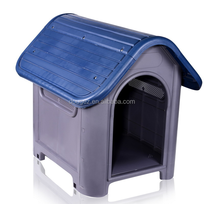 Hot selling New design Luxury plastic outdoor foldable prefabricated dog house