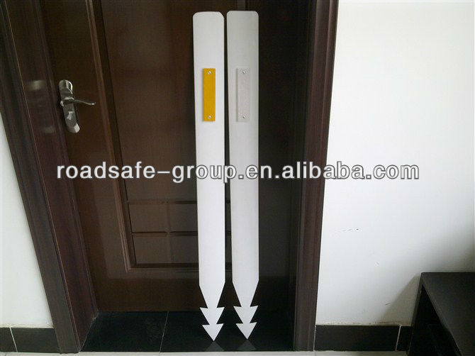 High quality PVC flexible road sign delineator/ Reflective road delineator