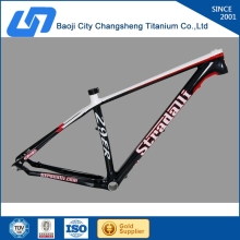 26 /28''/29'' titanium mtb bicycle frame with taper head tube for Central America