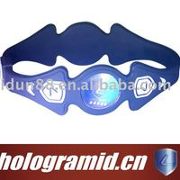 New Frequency Energy Silicone Rubber Wristband