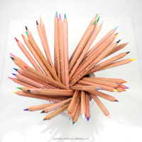 promotional wooden pencils color water-soluble